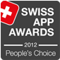 approppo swiss apps award 2012 - peoples choice